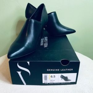 Simply Vera Wang Genuine Leather NWB Realizm Boots